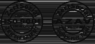 Siegel AZAF und ISO 9001